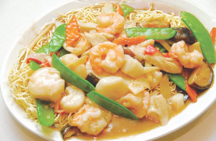 Seafood Pan Fried Noodles  Seafood Pan Fried Noodles