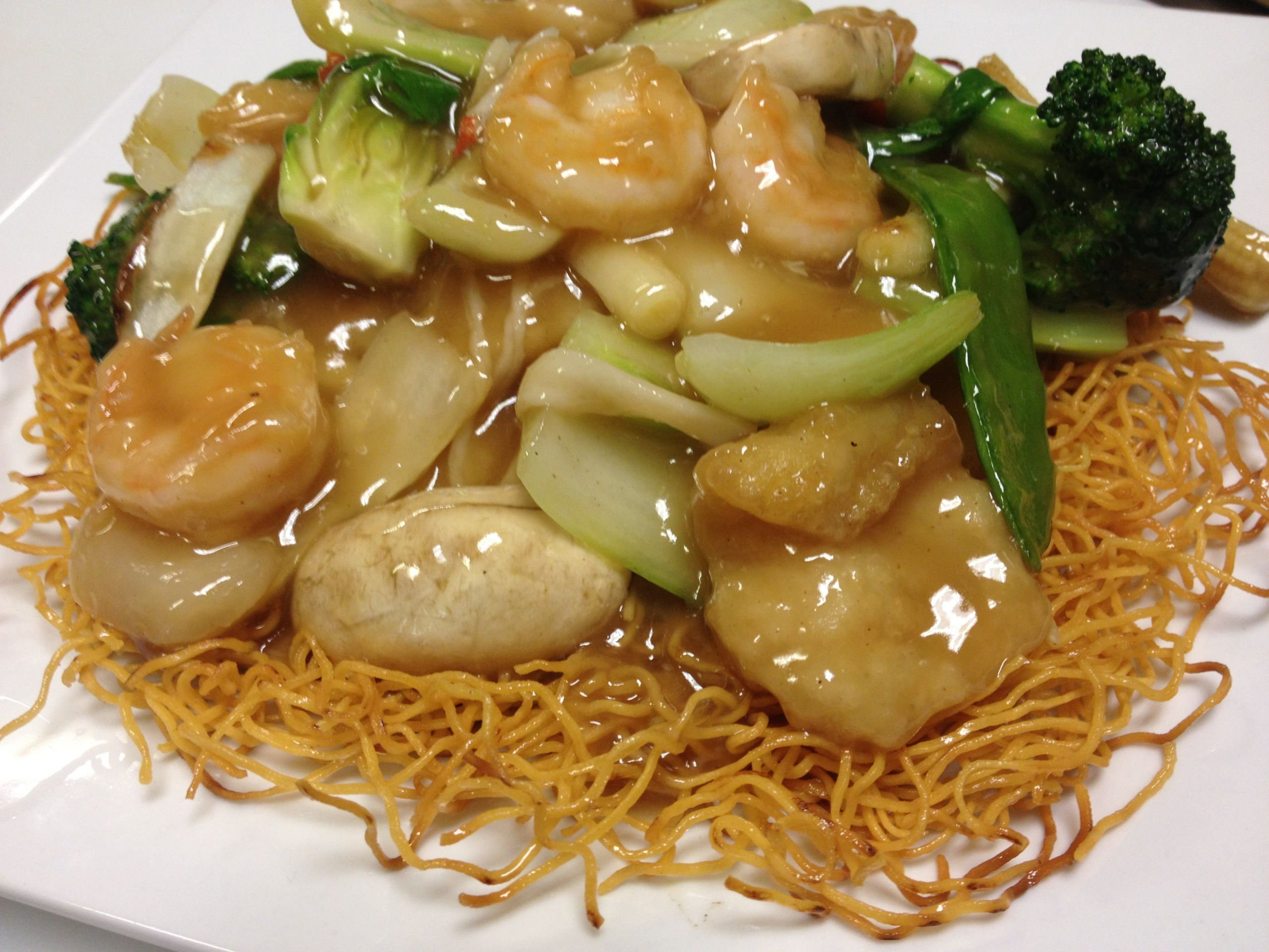 Seafood Pan Fried Noodles  Kitchen Specials