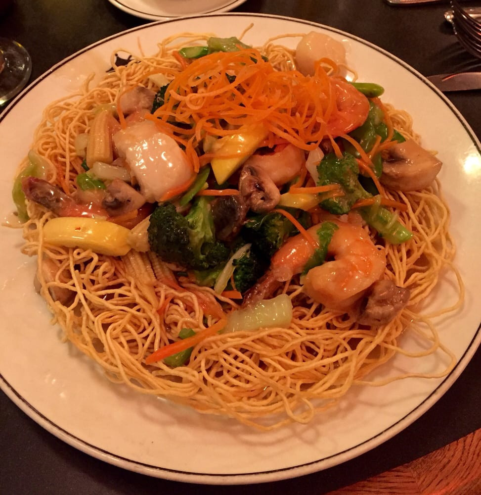 Seafood Pan Fried Noodles  Seafood pan fried noodles Yelp