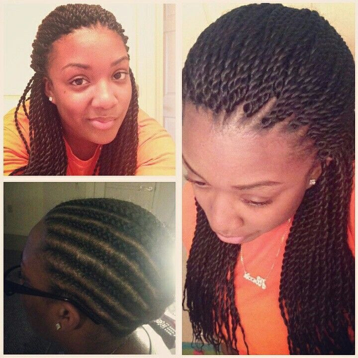 Senegalese Crochet Braids Hairstyles  Crocheted Senegalese twists I did not pre twist the
