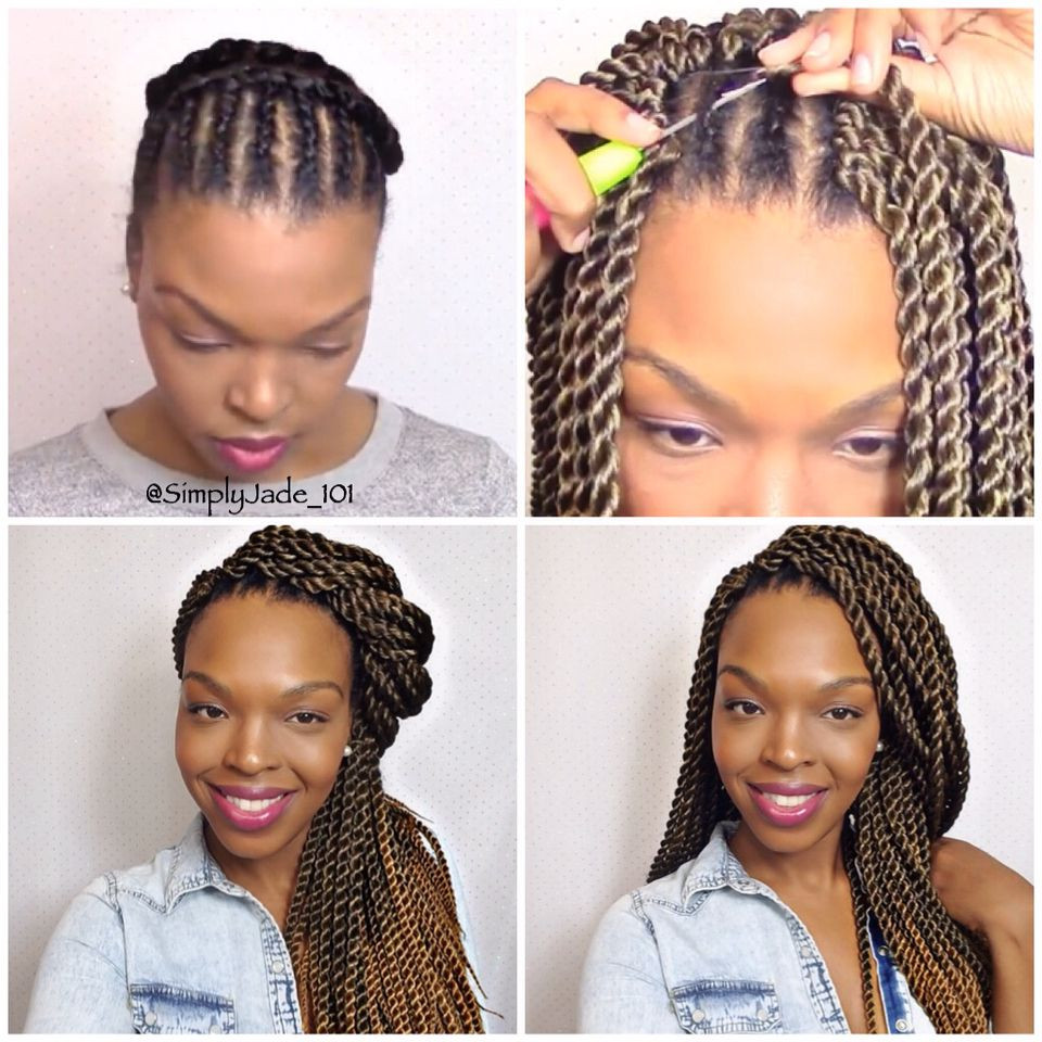 Senegalese Crochet Braids Hairstyles  If You're Transitioning By Doing The Big Chop This
