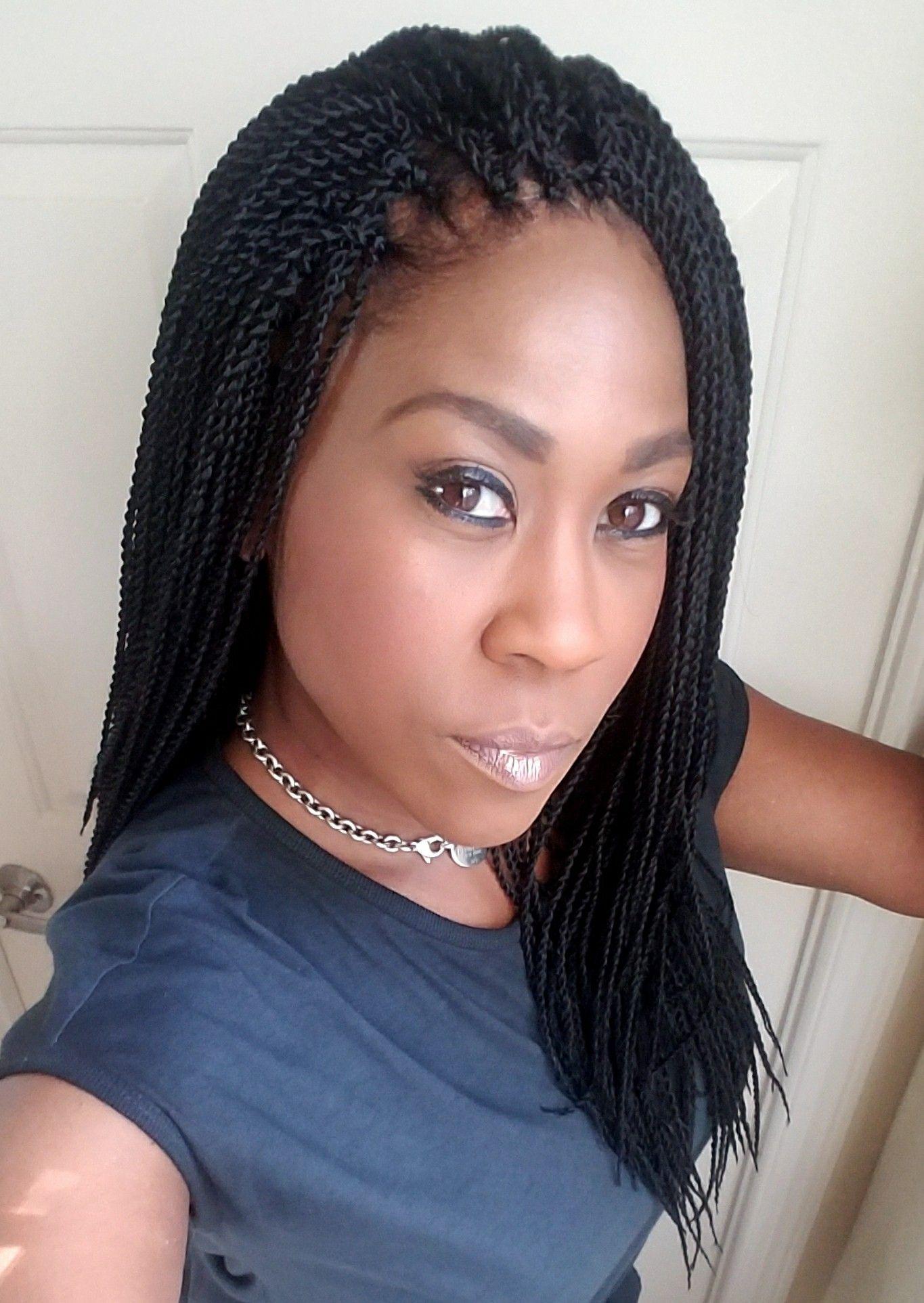 Senegalese Crochet Braids Hairstyles  Mico senegalese crochet braid hairstyle Hairstyles for Women