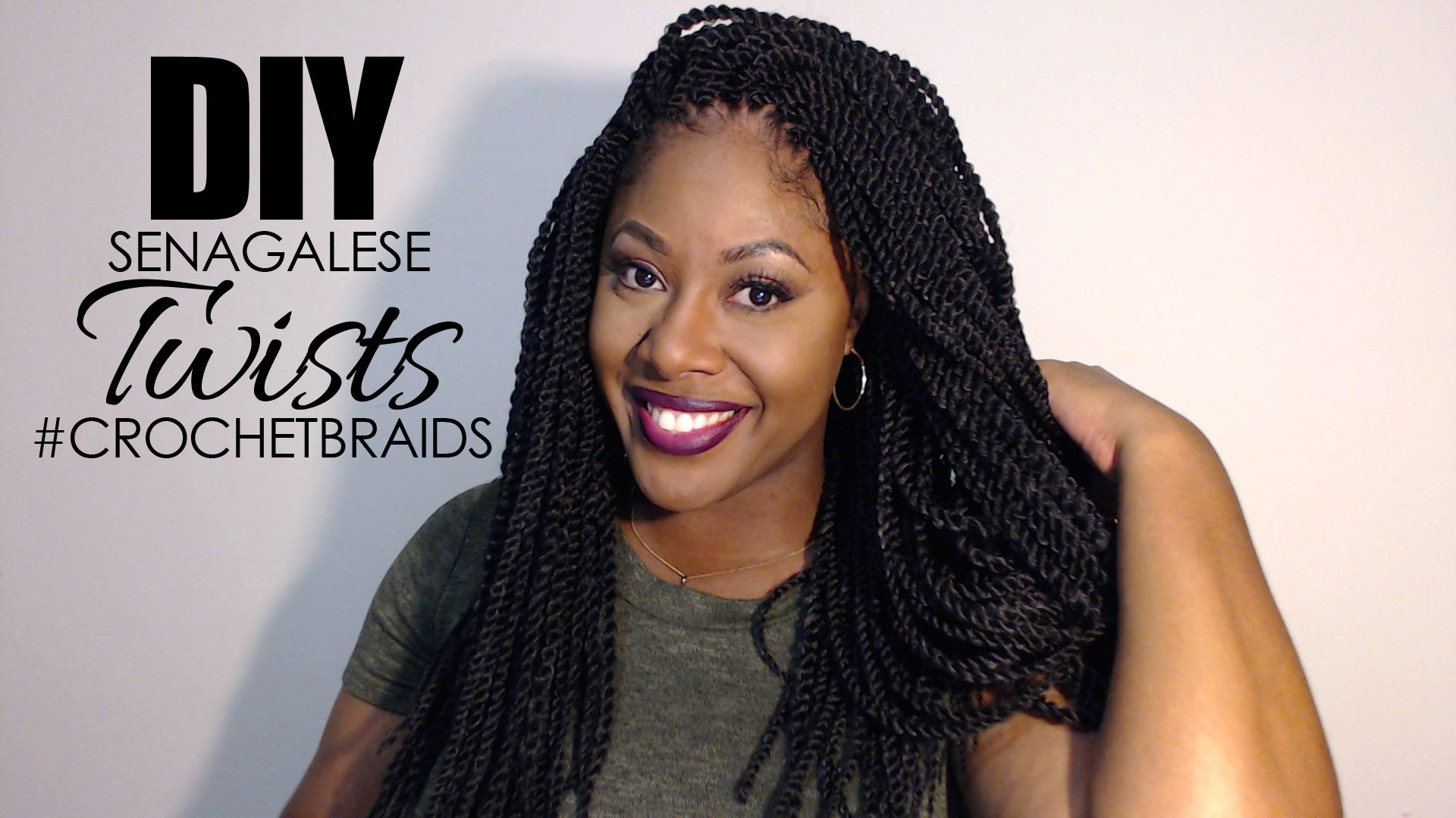 Senegalese Crochet Braids Hairstyles  Senegalese Twists Crochet Braids Braid – Makeup by Mesha