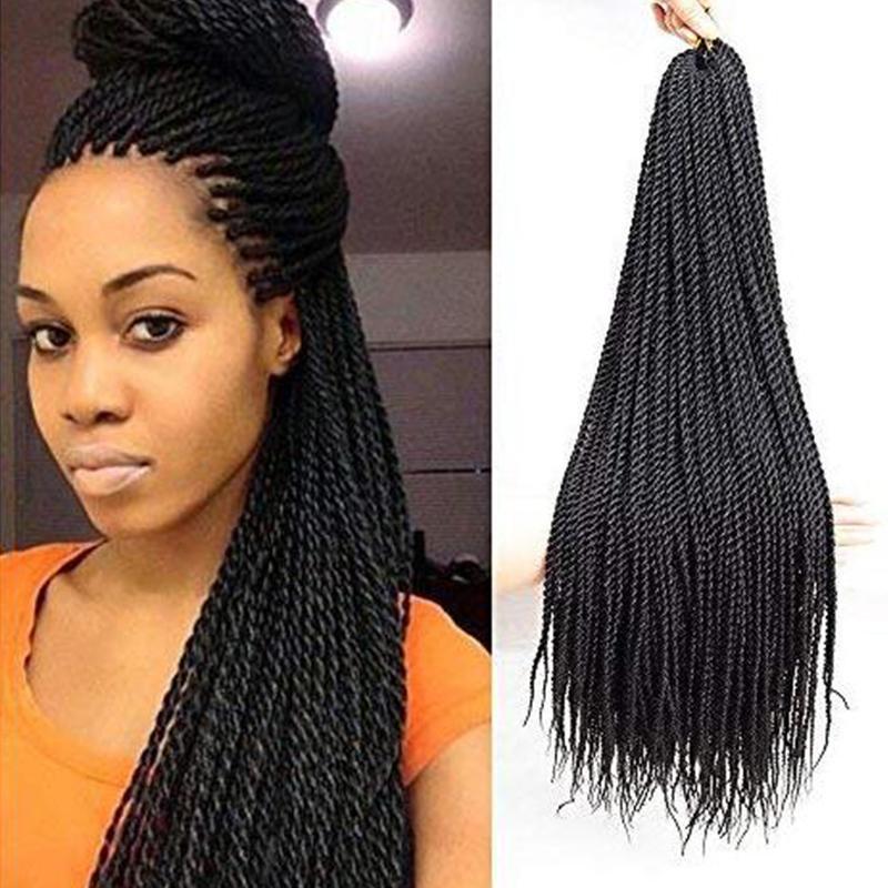 Senegalese Crochet Braids Hairstyles  2019 22Inch Senegalese Twist Crochet Hair Braids Small