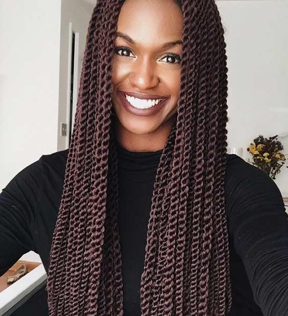 Senegalese Twist Crochet Hairstyles  31 Stunning Crochet Twist Hairstyles