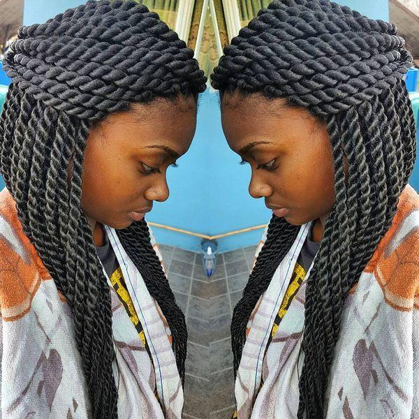 Senegalese Twist Crochet Hairstyles  Best Senegalese Twist Hairstyles Ideas for Women Trending