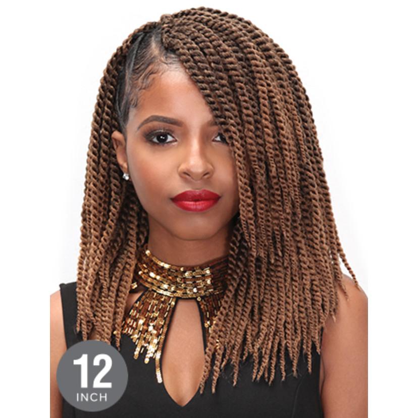 "Senegalese Twist Crochet Hairstyles  Zury Crochet Senegalese Medium Twist 12"" – Beauty Depot O"