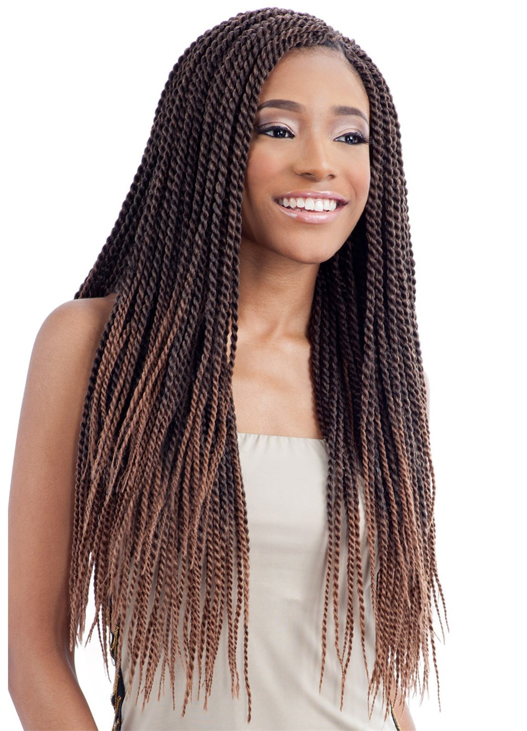 Senegalese Twist Crochet Hairstyles  Model Model Glance Crochet Braid SENEGALESE TWIST SMALL