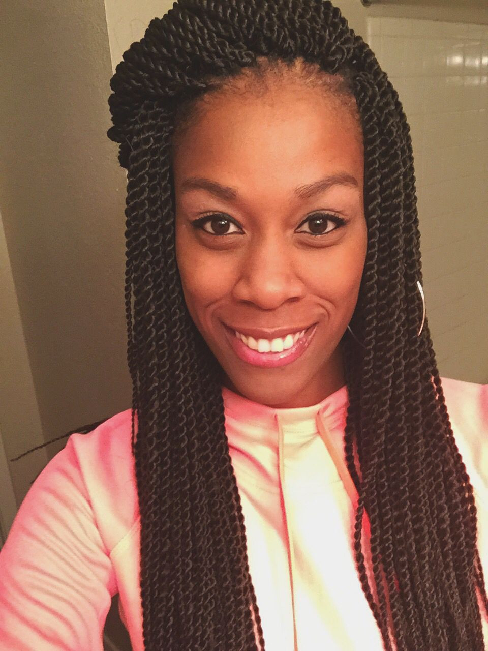 Senegalese Twist Crochet Hairstyles  Crochet Senegalese on my client using the freetress brand