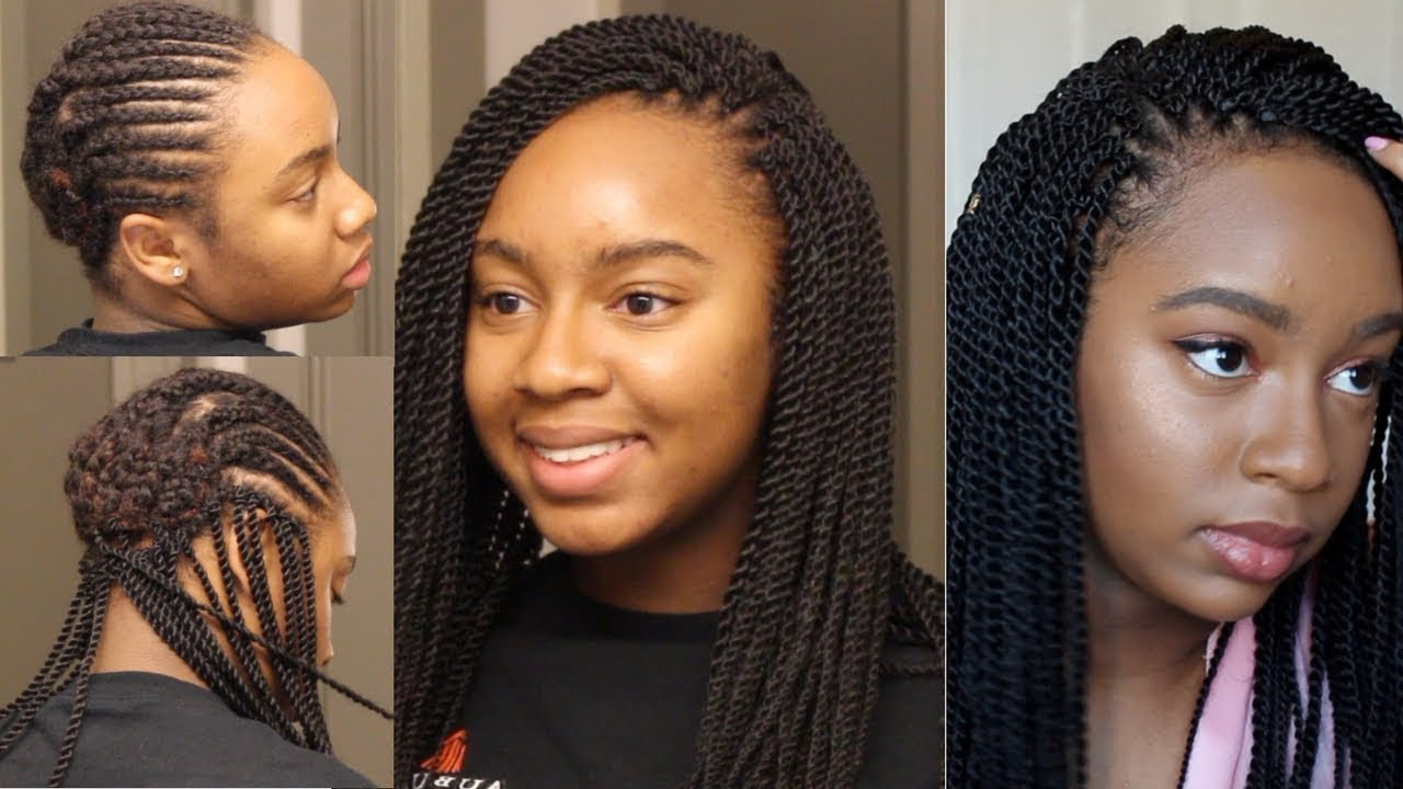 Senegalese Twist Crochet Hairstyles  Crochet Senegalese Twists never looked this Good [Video