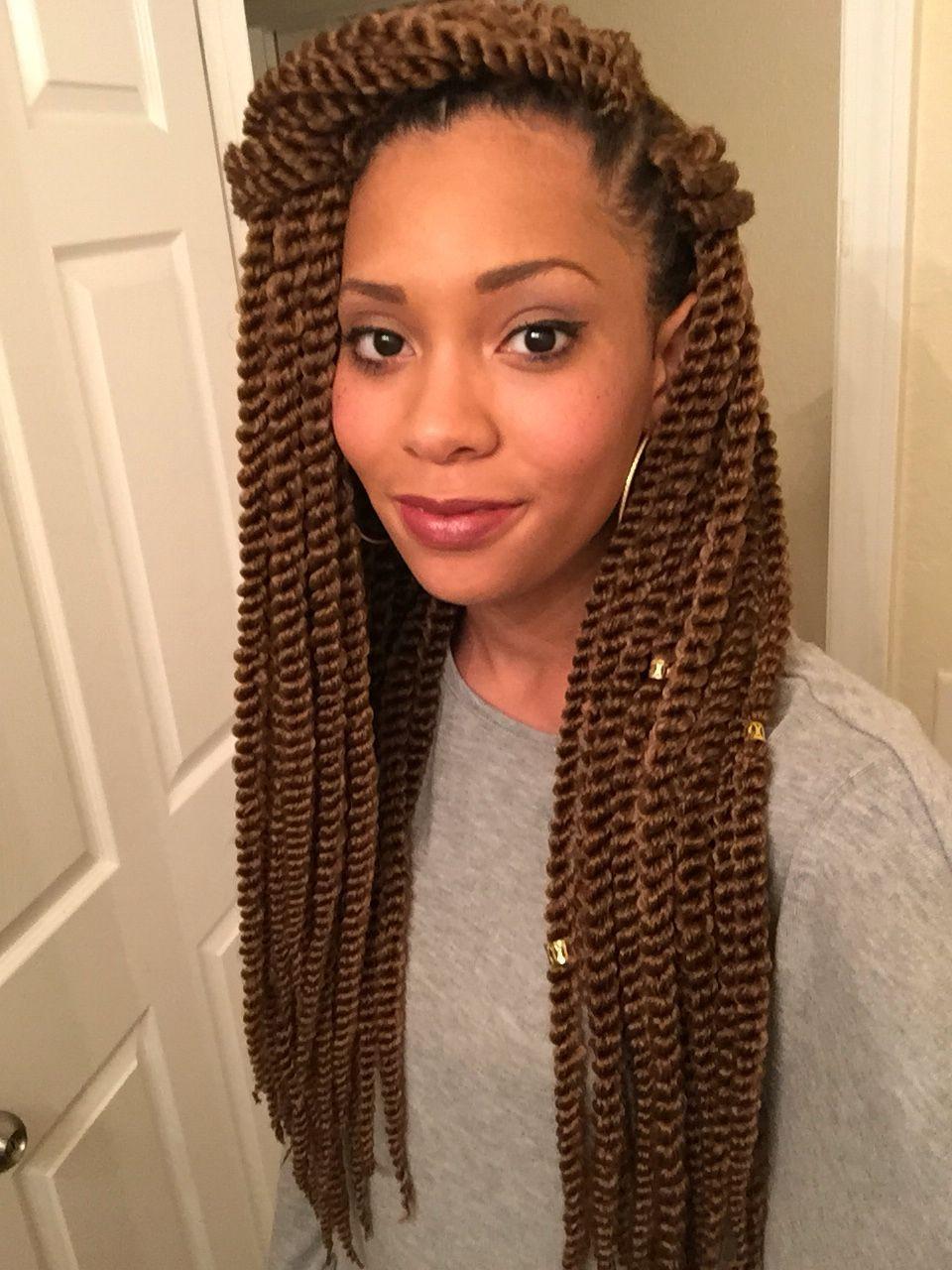 Senegalese Twist Crochet Hairstyles  Crochet Senegalese twists protectivehairstyles