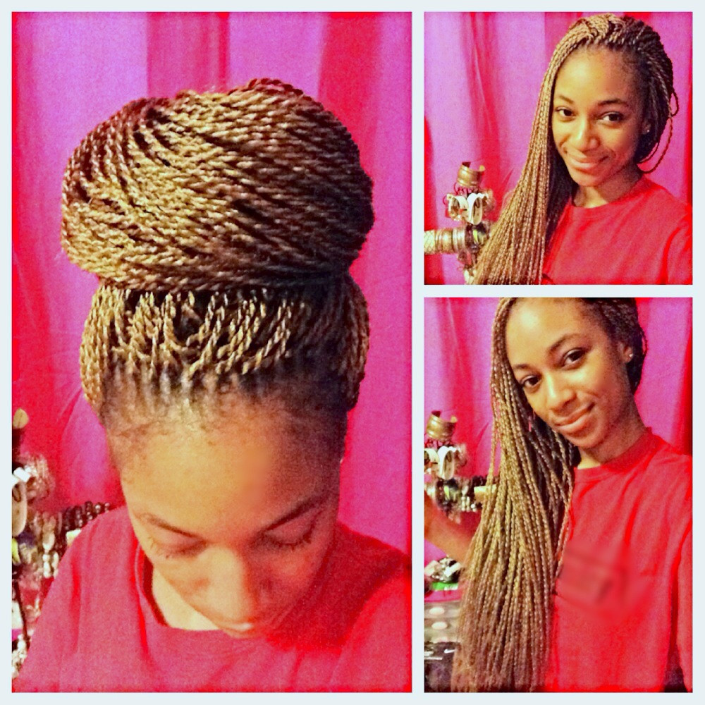 Senegalese Twist Crochet Hairstyles  How I Crocheted Micro Senegalese Twists into My Hair