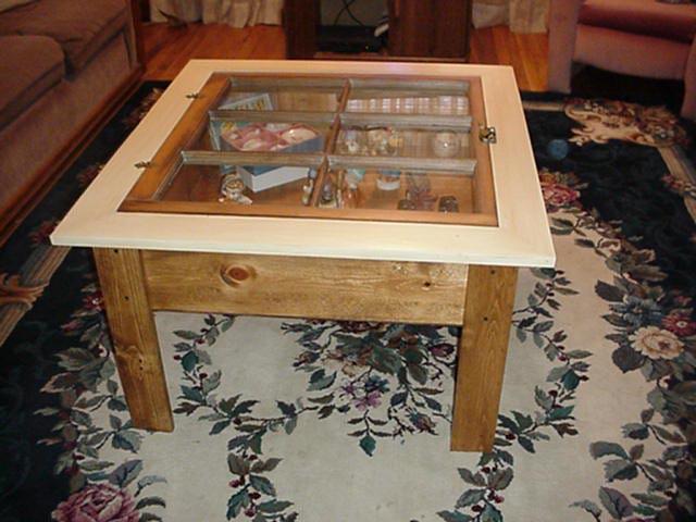 Shadow Box Coffee Table DIY  20 DIY Shadow Box Coffee Table Plans