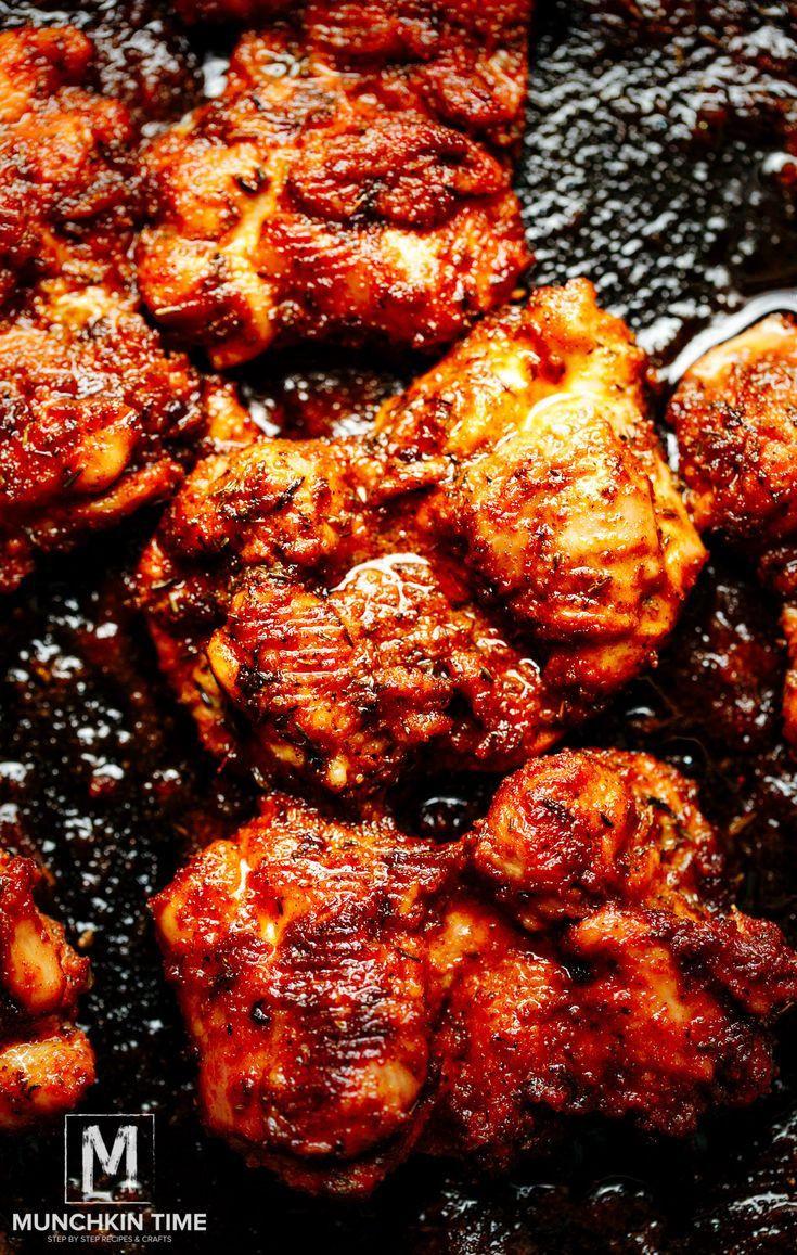 Sheet Pan Boneless Chicken Thighs  30 min Oven Baked Boneless Skinless Chicken Thighs