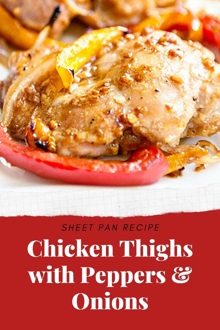 Sheet Pan Boneless Chicken Thighs  Sheet pan recipes are all the rage and for good reason