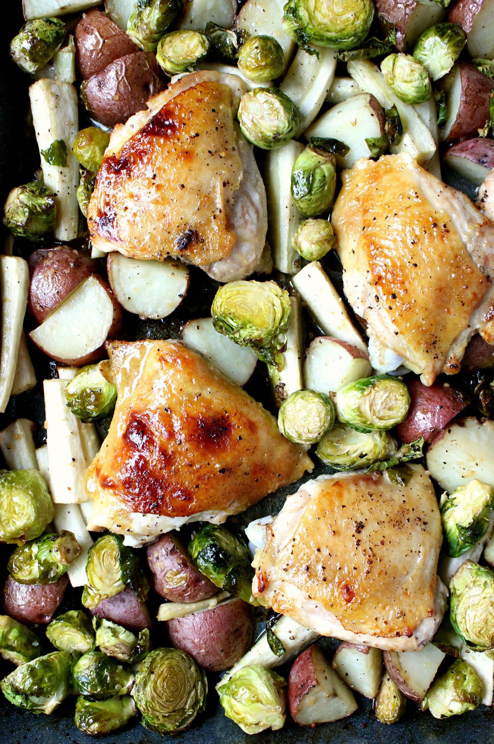 Sheet Pan Boneless Chicken Thighs  Best 25 Sheet Pan Boneless Chicken Thighs Best Round Up