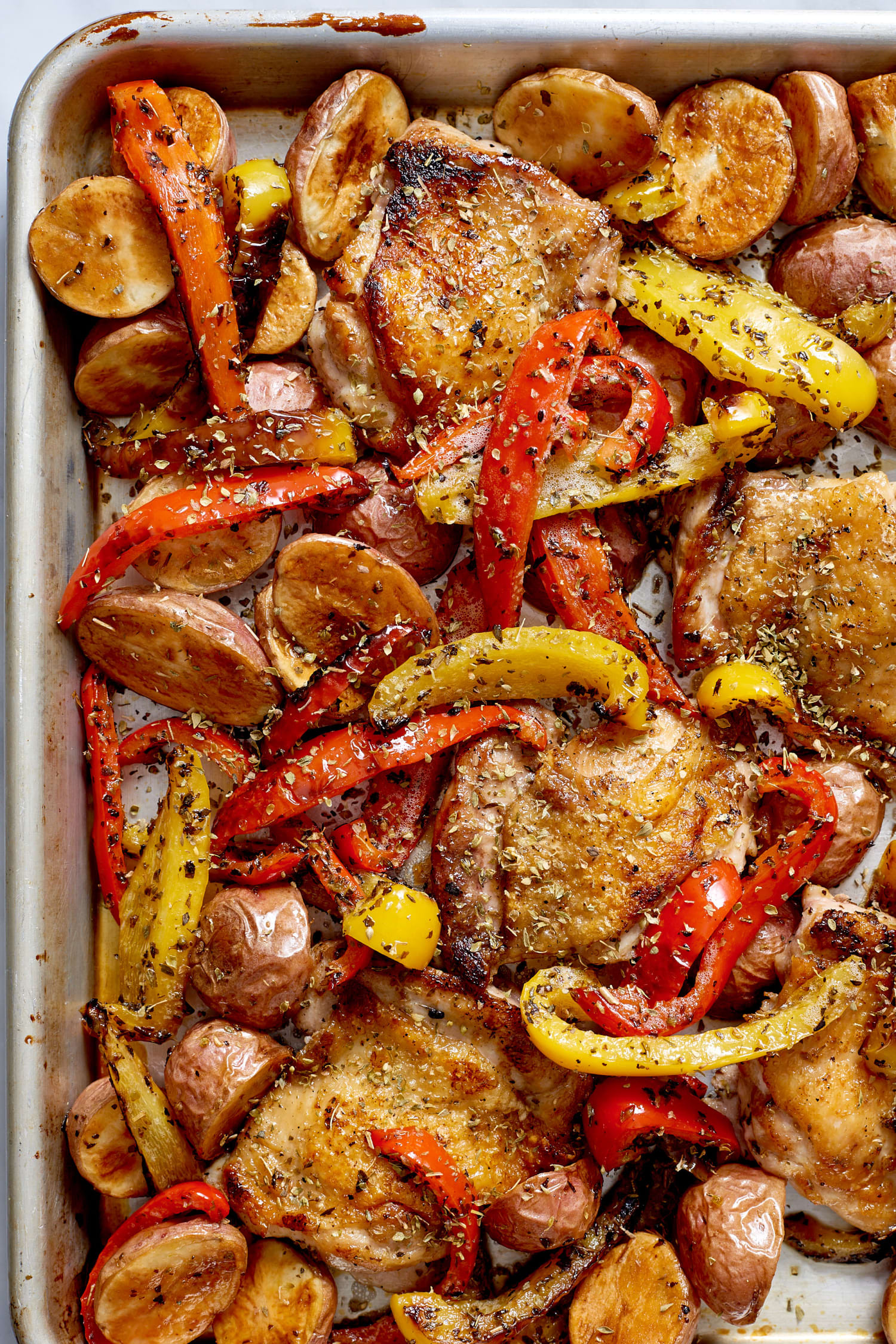 Sheet Pan Boneless Chicken Thighs  Easy Sheet Pan Chicken Dinners