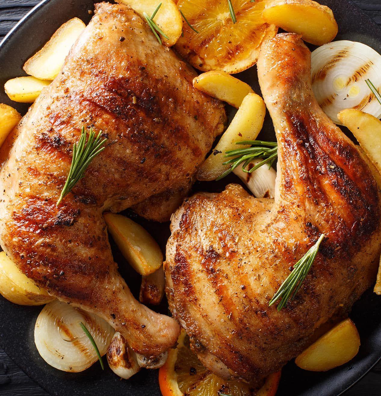 Sheet Pan Boneless Chicken Thighs  Sheet Pan Chicken Thighs with Gold Potatoes Asparagus