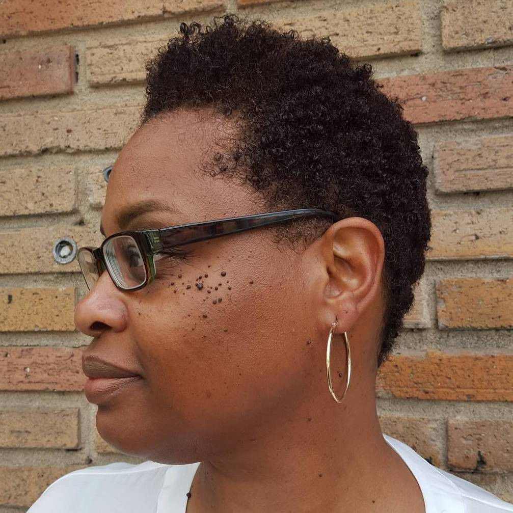 Short Tapered Natural Hairstyles  40 Cute Tapered Natural Hairstyles for Afro Hair