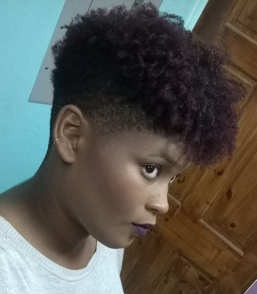 Short Tapered Natural Hairstyles  Tapered Natural in 2019