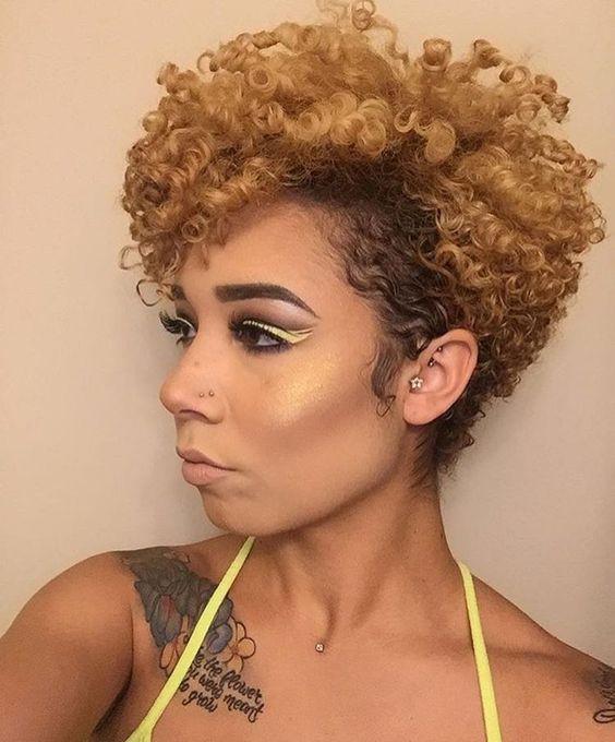 Short Tapered Natural Hairstyles  Short Natural Hairstyles