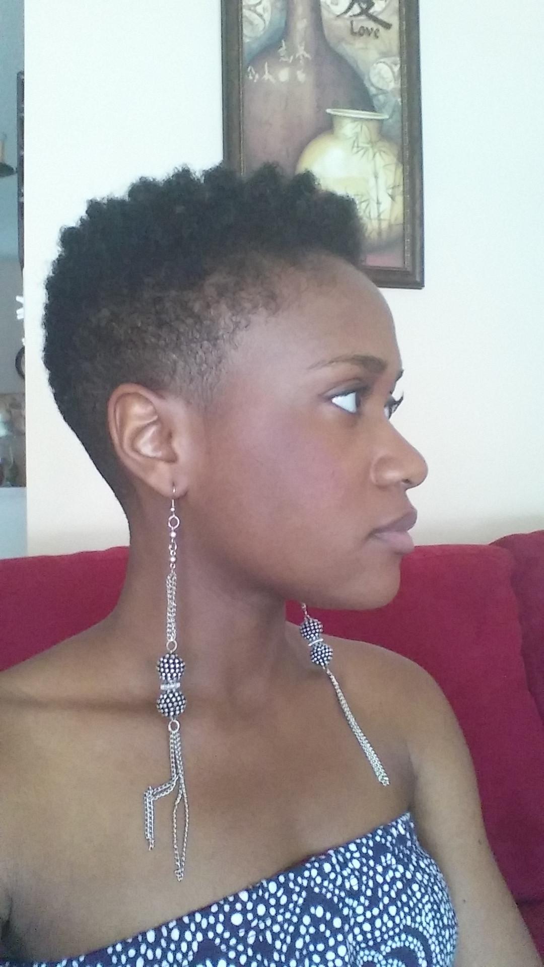 Short Tapered Natural Hairstyles  Tapered Haircut Natural Hair