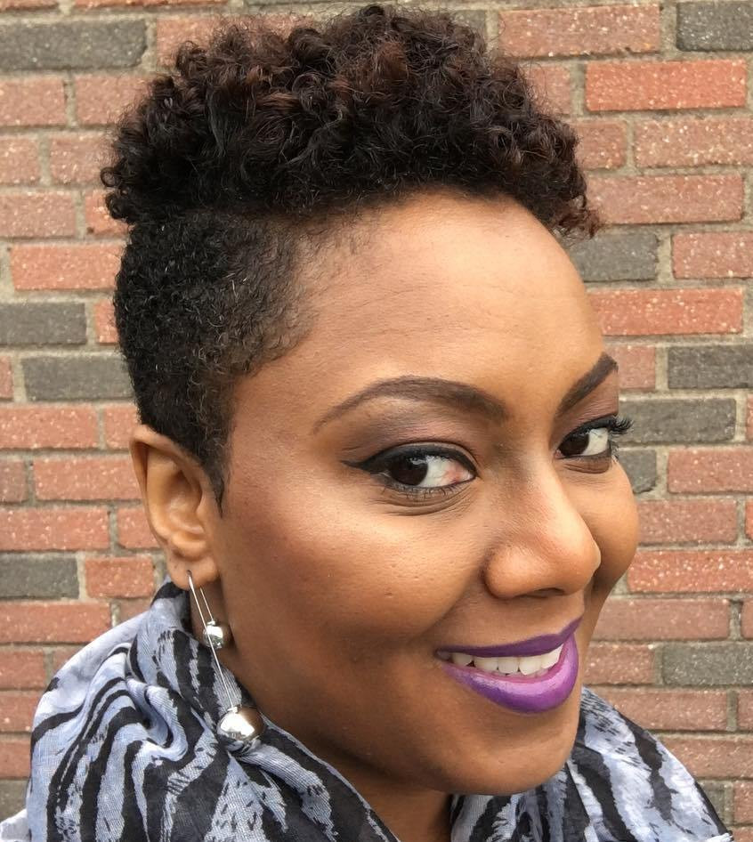Short Tapered Natural Hairstyles  Tapered Hairstyles Women