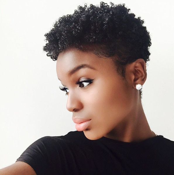 Short Tapered Natural Hairstyles  InstaFeature Tapered cut on natural hair – dennydaily