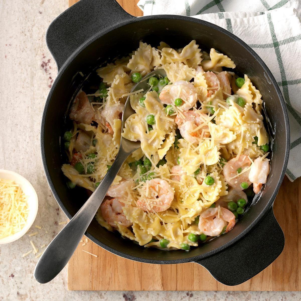 Shrimp Spaghetti Alfredo  Shrimp Pasta Alfredo Recipe
