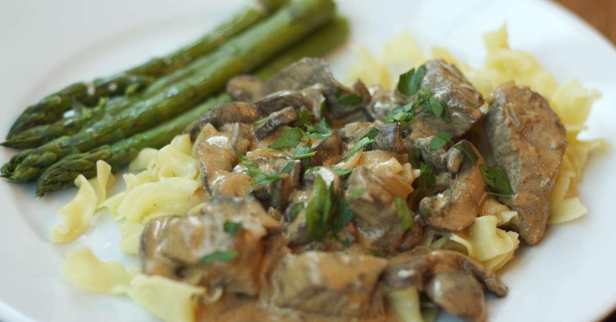 Side Dish For Beef Stroganoff  Beef Stroganoff Recipe MakeBetterFood