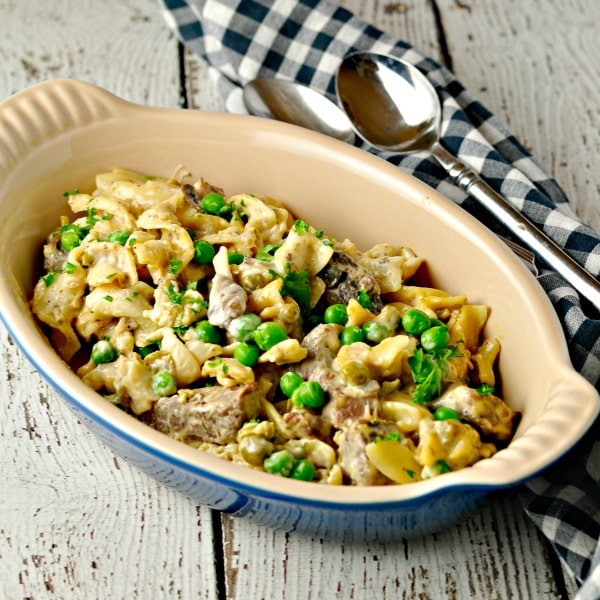 Side Dish For Beef Stroganoff  Easy Weeknight Beef Stroganoff • Loaves and Dishes