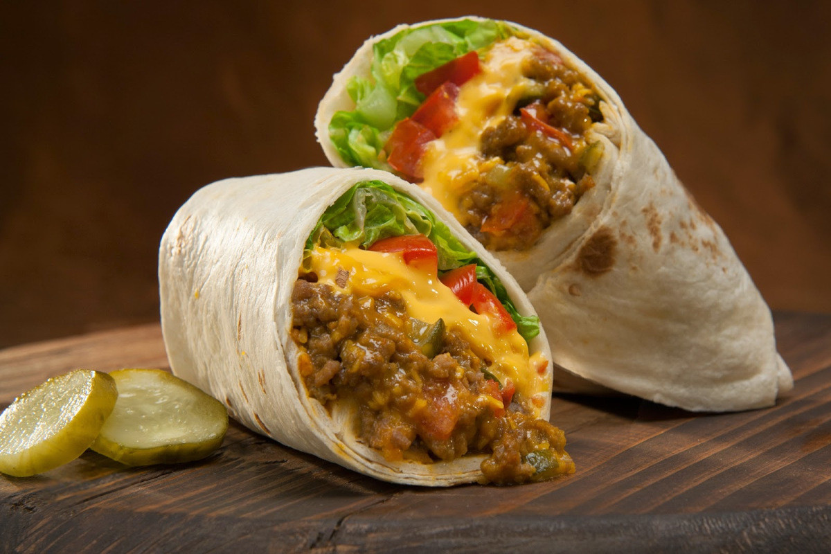 Side Dish For Burritos  Cheeseburger Burritos