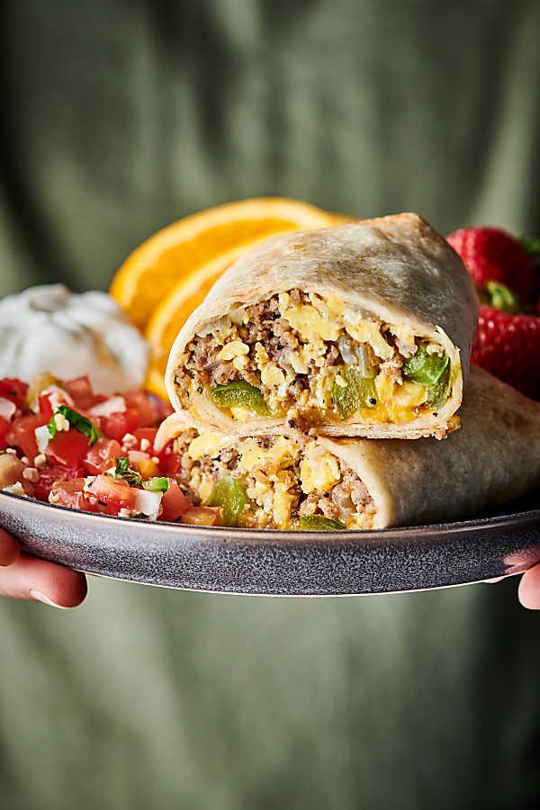Side Dish For Burritos  Easy Make Ahead Breakfast Burrito Recipes Fresh