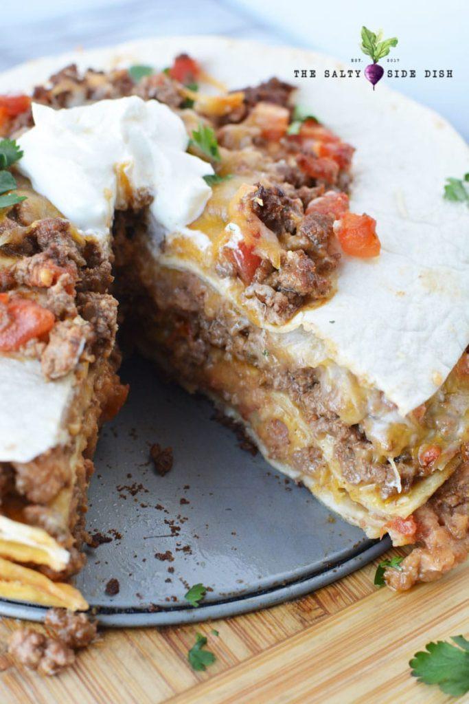 Side Dish For Burritos  Burrito Pie