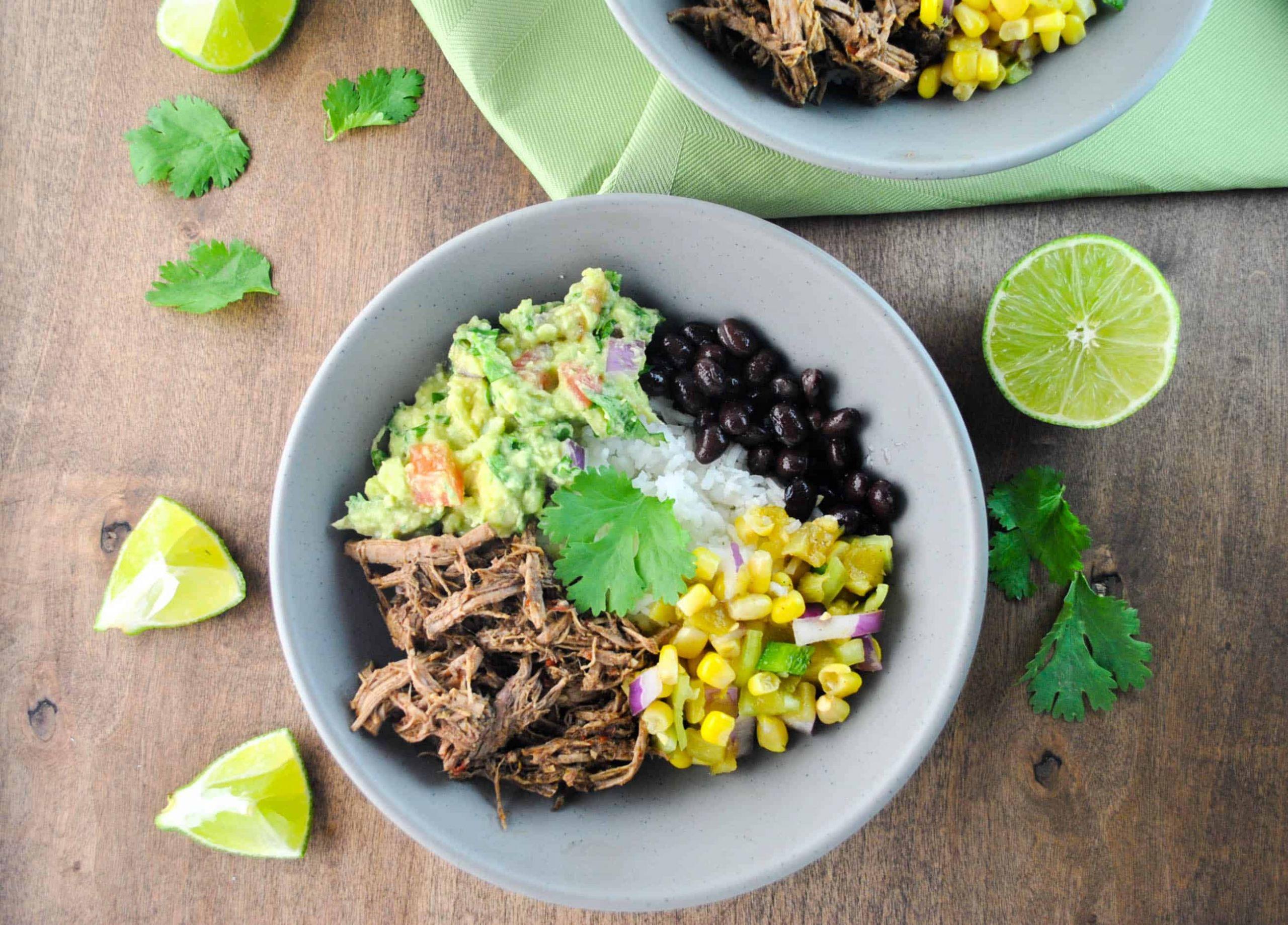 Side Dish For Burritos  Barbacoa Burrito Bowls