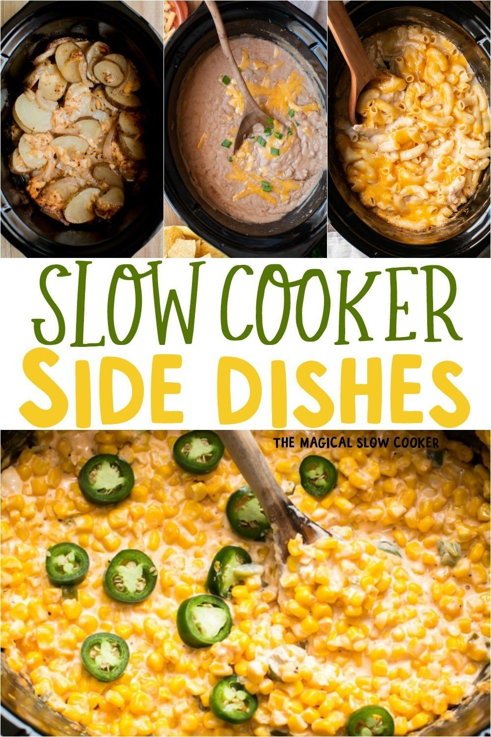 Slow Cooker Side Dishes For Bbq  11 Easy Slow Cooker Side Dishes