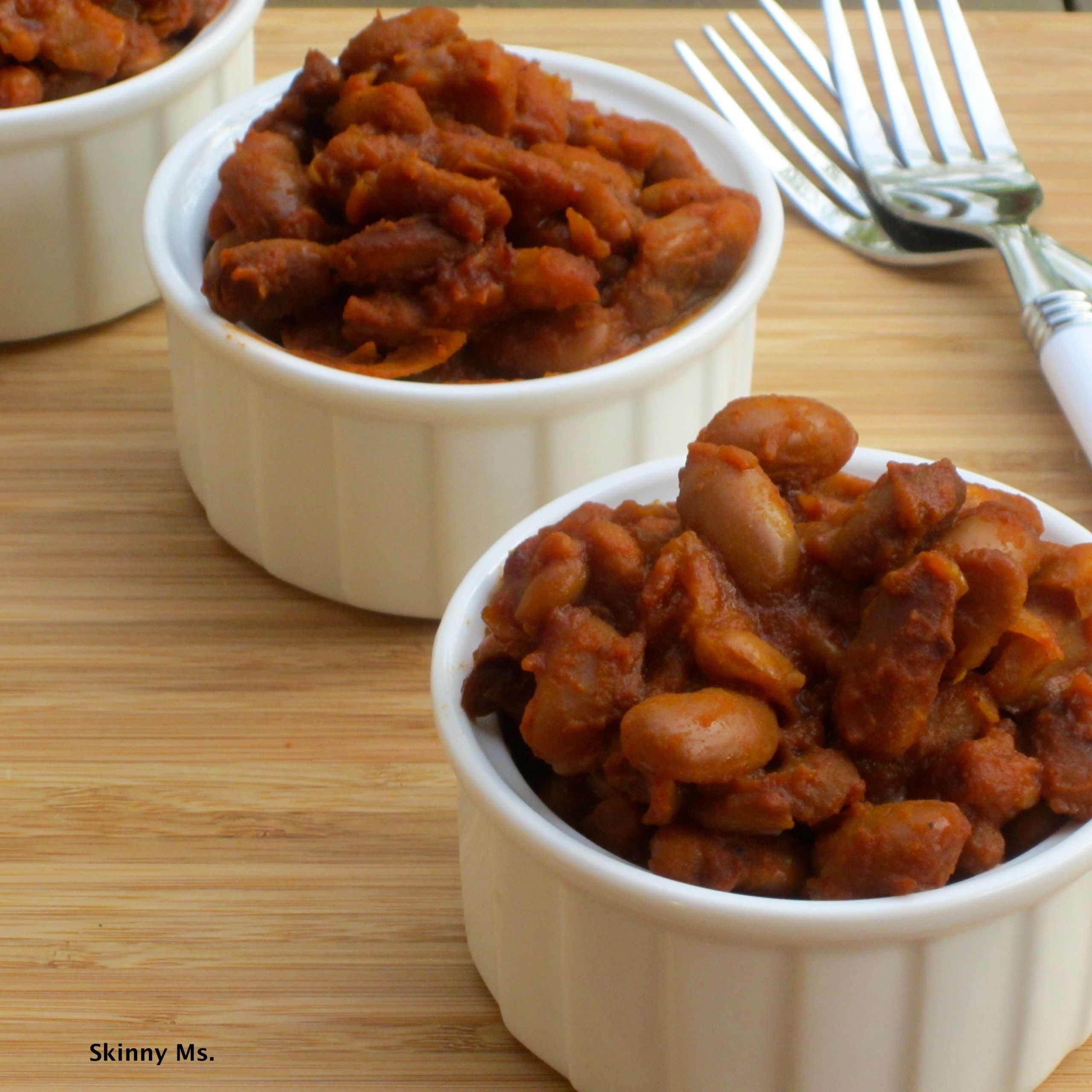 Slow Cooker Side Dishes For Bbq  Slow Cooker Barbecue Beans Recipe