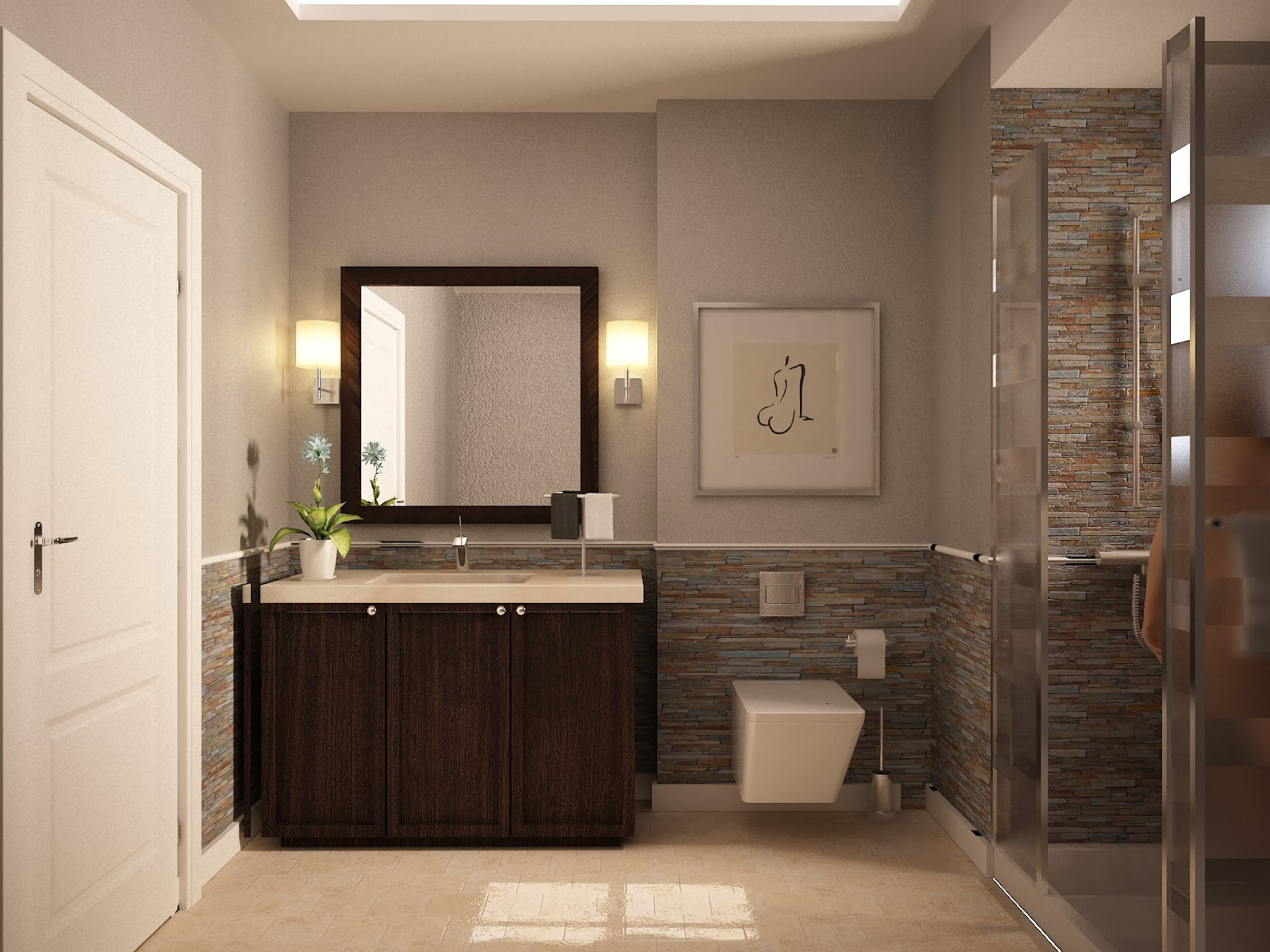 Small Bathroom Paint Colors  19 Popular Paint Colors for Bathroom Dap fice