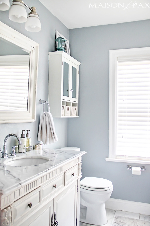 Small Bathroom Paint Colors  10 Tips for Designing a Small Bathroom Maison de Pax