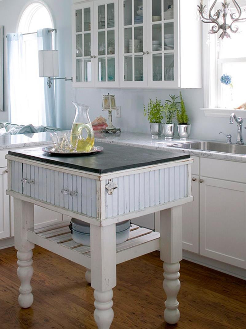 Small Kitchen With Island Ideas  51 Awesome Small Kitchen With Island Designs Page 6 of 10