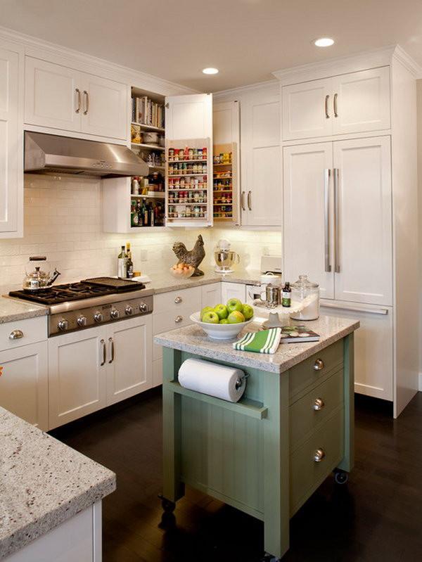 Small Kitchen With Island Ideas  20 Cool Kitchen Island Ideas Hative