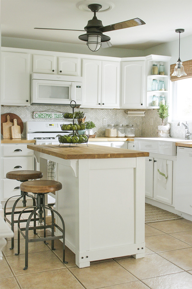 Small Kitchen With Island Ideas  DIY Island Ideas for Small Kitchens Beneath My Heart