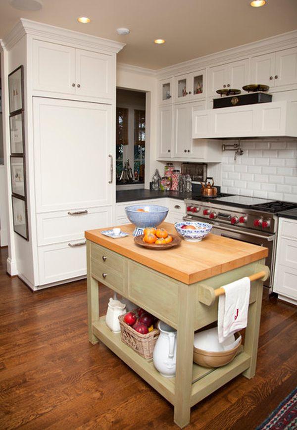 Small Kitchen With Island Ideas  10 Small kitchen island design ideas practical furniture