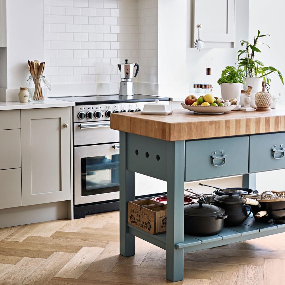 Small Kitchen With Island Ideas  Small kitchen design ideas – Small kitchen ideas – Small