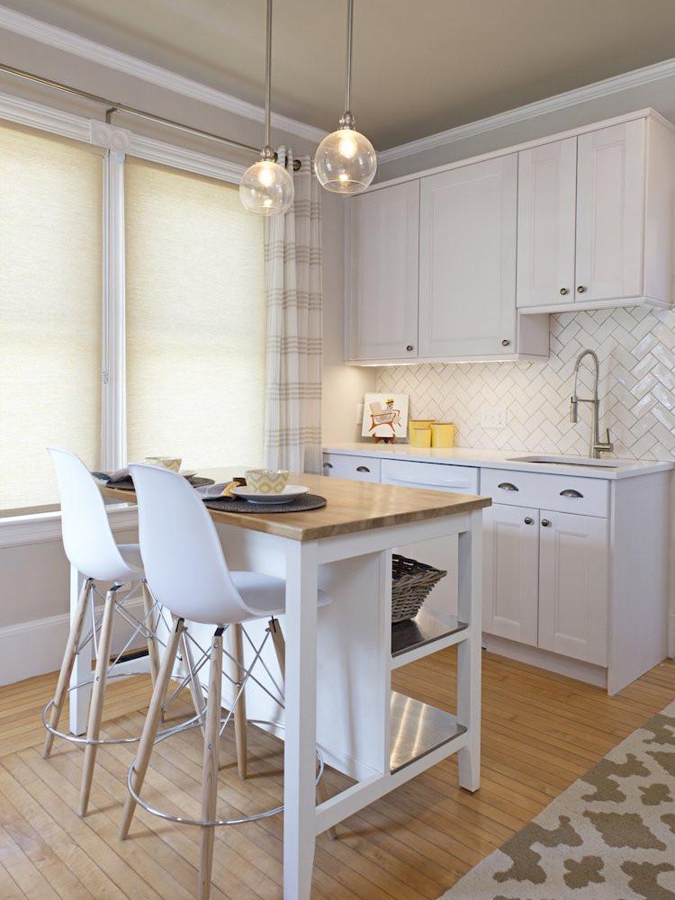 Small Kitchen With Island Ideas  15 Small Kitchen Island Ideas That Inspire Bob Vila