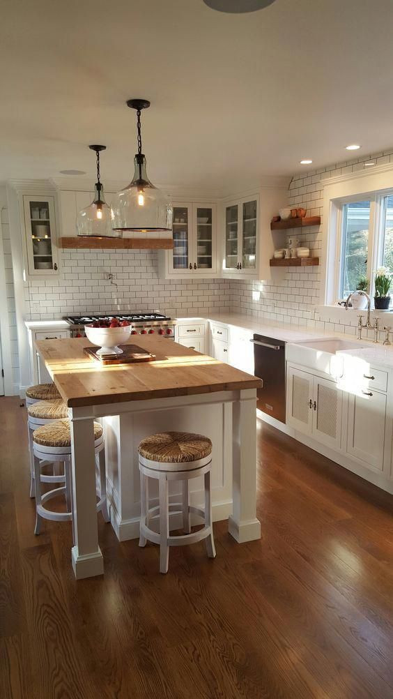 Small Kitchen With Island Ideas  Small Kitchen Island Ideas 20 Inspiring Designs on a