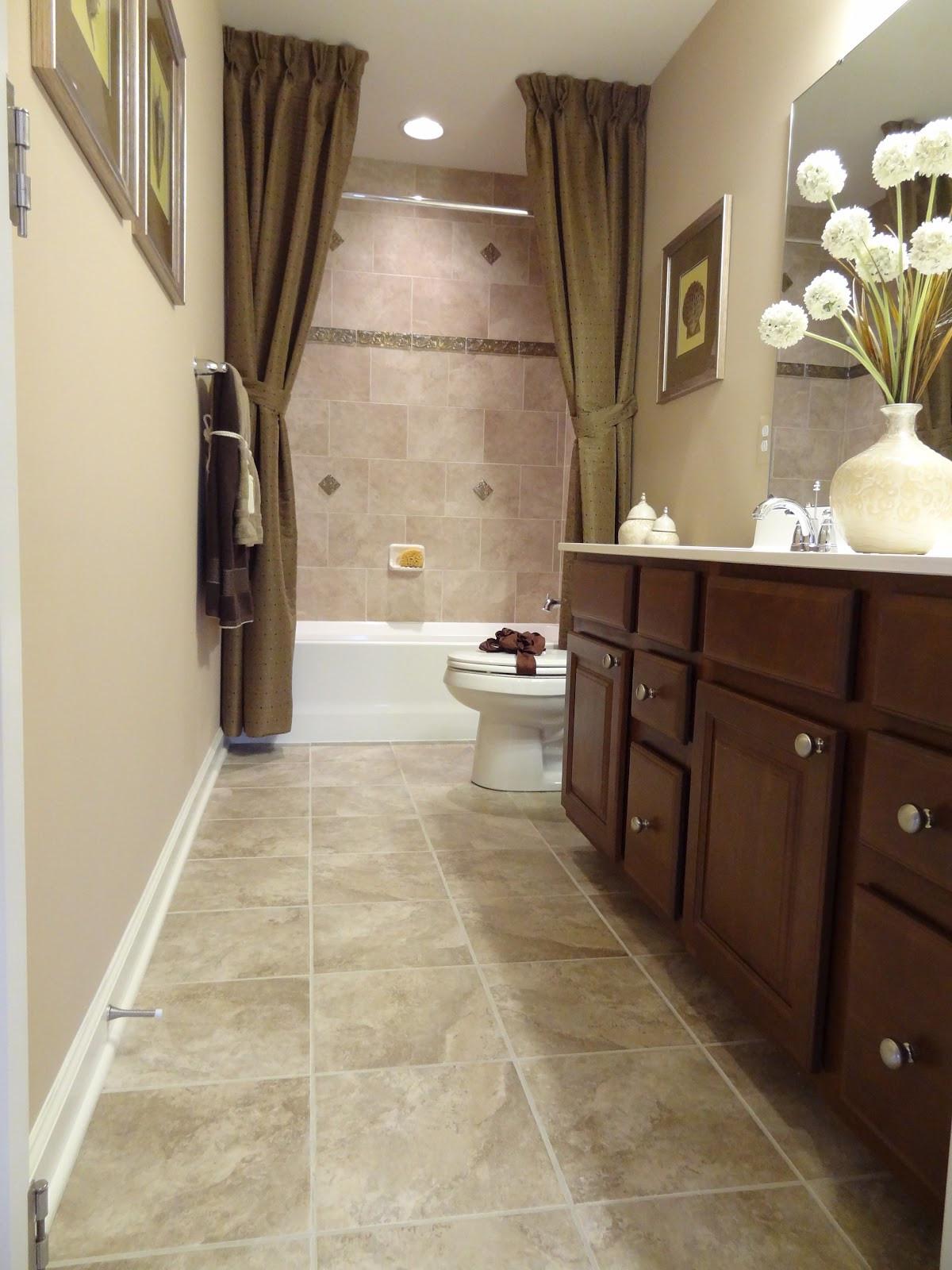 Small Narrow Bathroom Ideas  Lot 106 Model