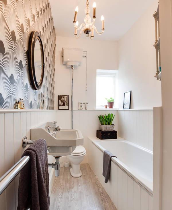 Small Narrow Bathroom Ideas  15 Small Bathroom Design Ideas