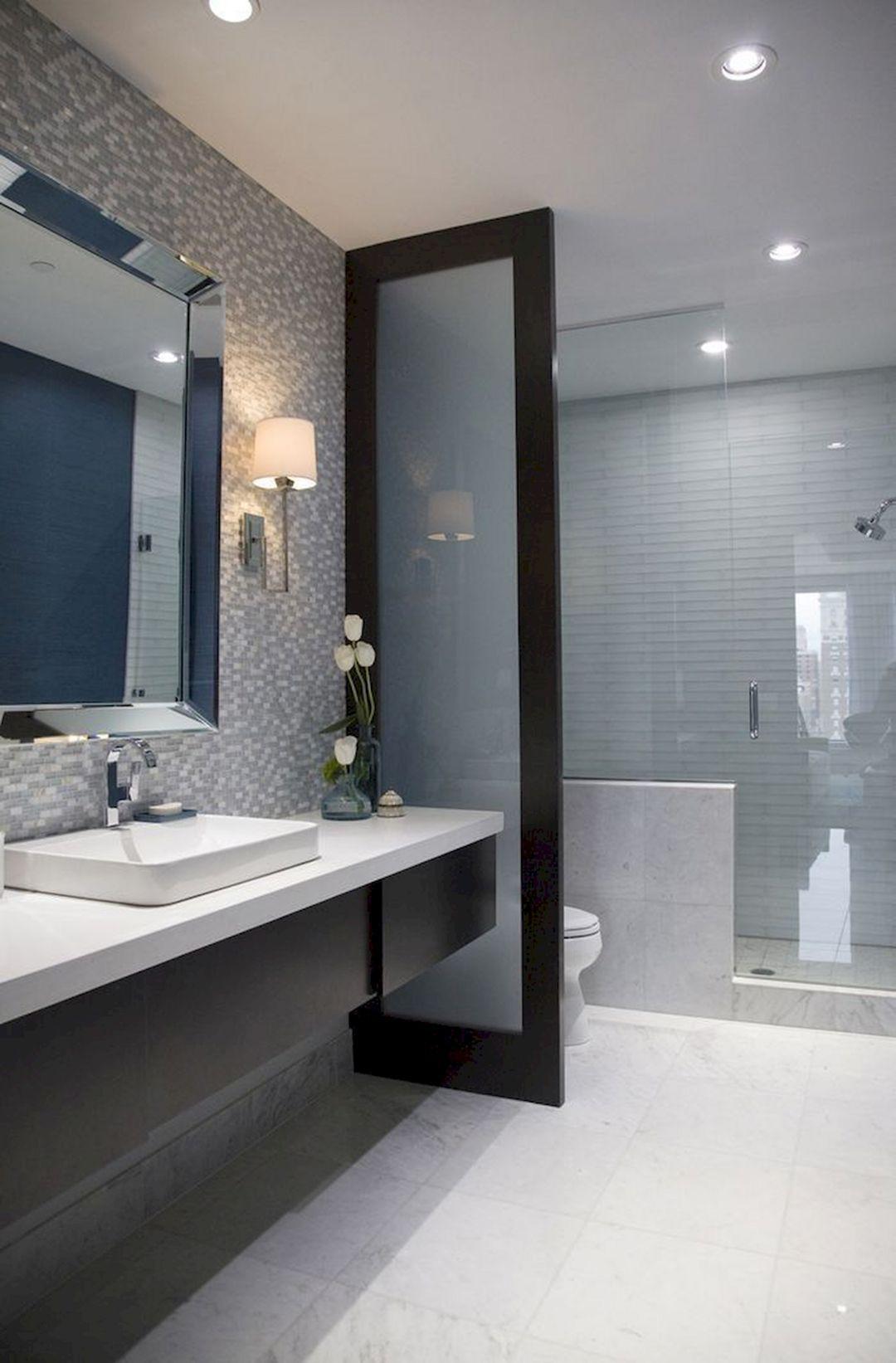 Small Narrow Bathroom Ideas  Gorgeous 43 Long Narrow Bathroom Design Ideas You Never