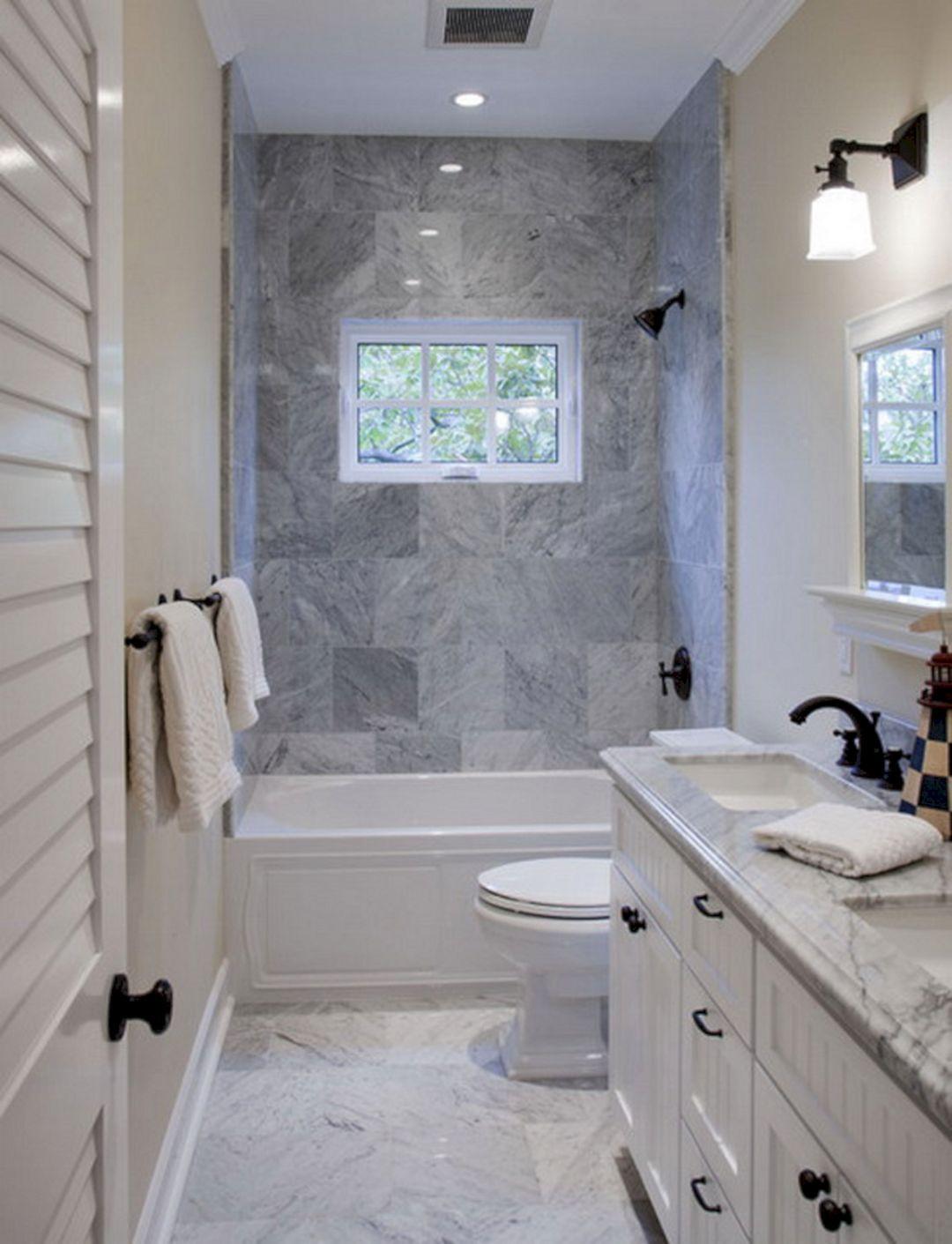 Small Narrow Bathroom Ideas  34 Best Functional Design Ideas For Small Bathroom – FresHOUZ